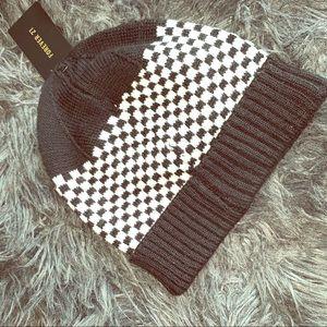 Checkered Beanie